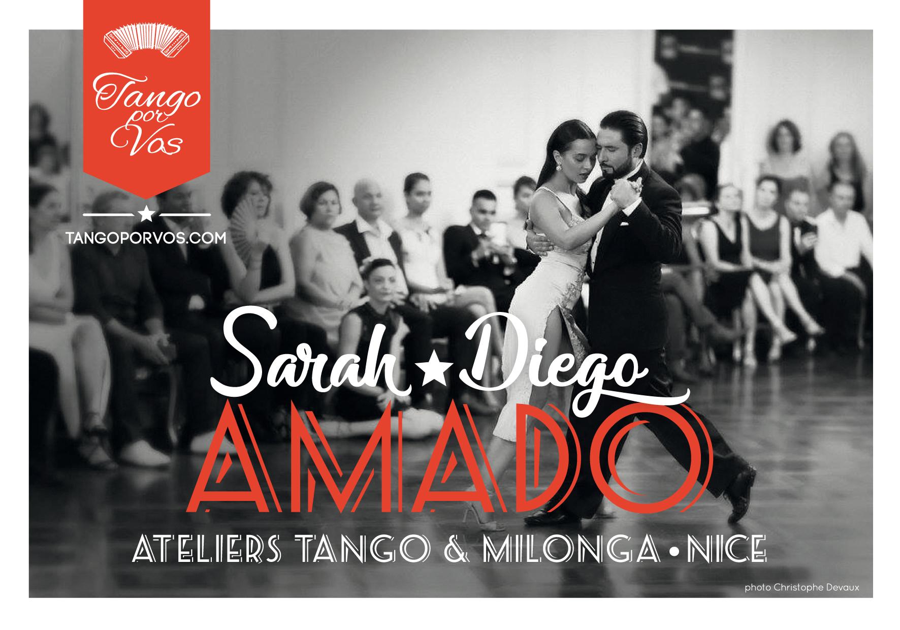 Sarah et Diego AMADO à Nice